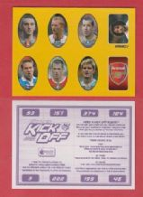 Charlton Athletic Kiely West Brom Gaardsoe Everton Martyn Bolton Campo Birmingham City Upson Liverpool Carragher Man City Jordan Arsenal Badge